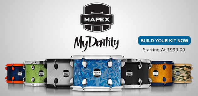 Photo of Mapex MyDentity Drums