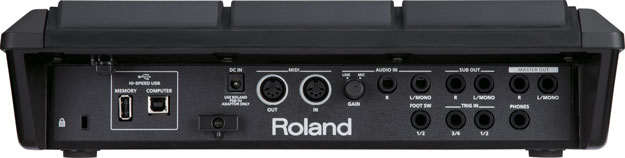 Roland SPD-SX Back