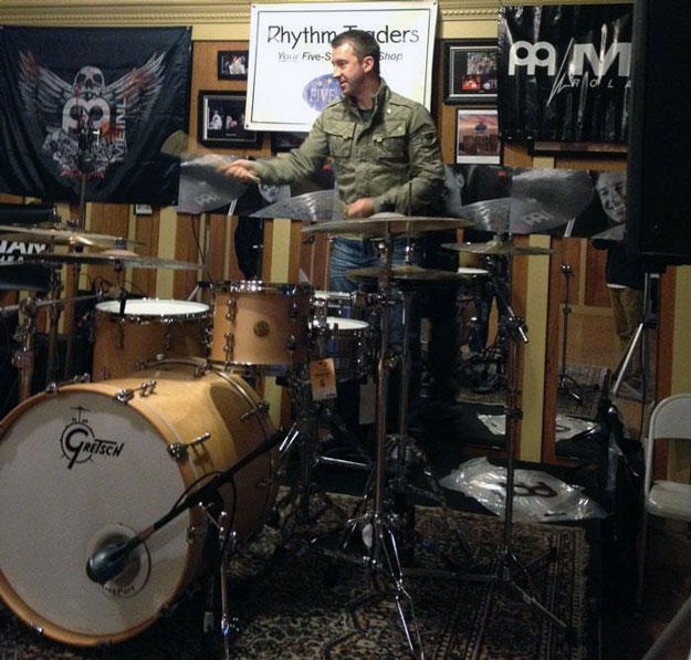 Photo of Mike Johnston Clinic at Rhythm Traders