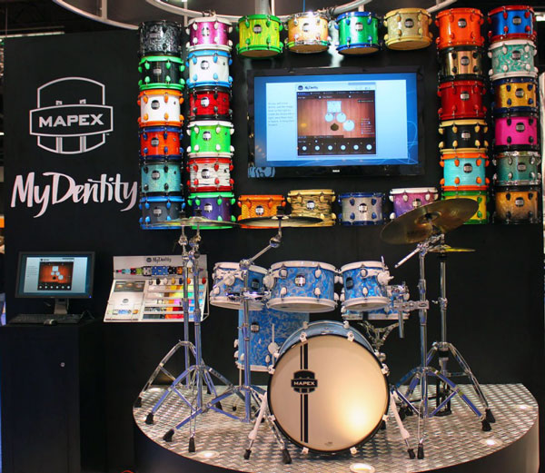 Photo of MyDentity at NAMM 2012