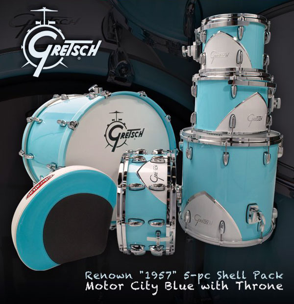 Photo of Gretsch Renown '57 in Motor City Blue
