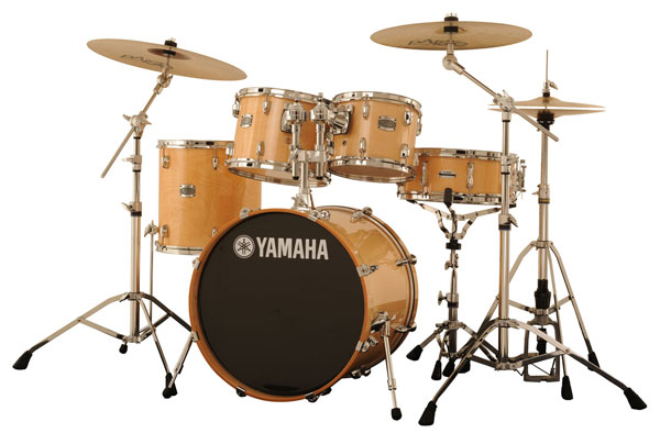 Photo of Yamaha Stage Custom in Natural Wood Finish