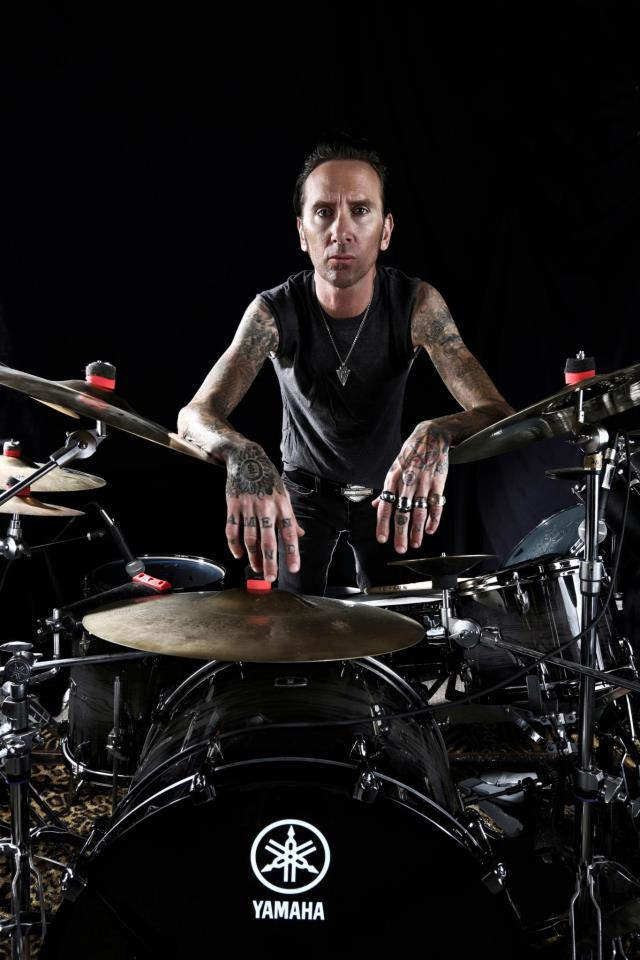 Shannon Larkin free drum clinic at Rhythm Traders