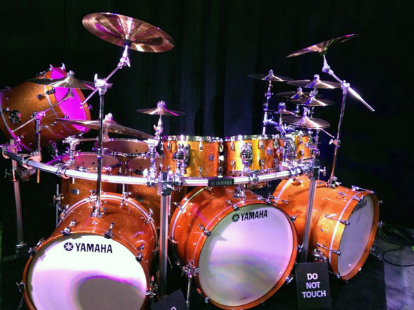 Yamaha Absolute Hybrid Maple at NAMM 2014