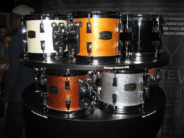Yamaha Absolute Hybrid Maple Finishes