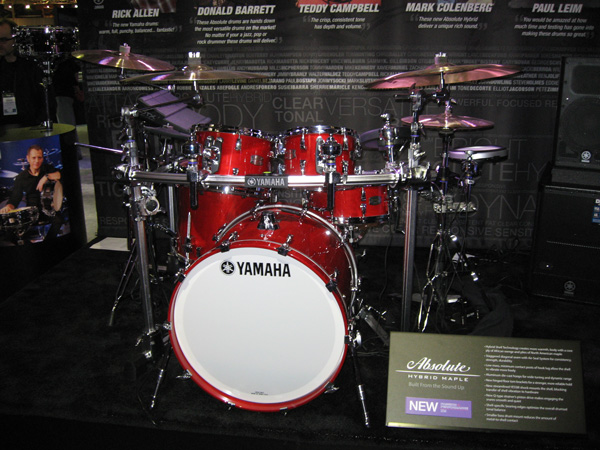 "The ultimate ""Hybrid"" Yamaha Absolute Hybrid Maple"