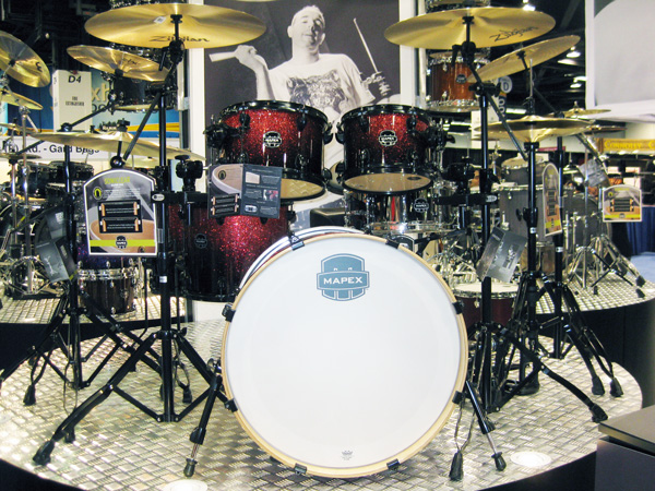 Armory Series Drum Set at NAMM 2014