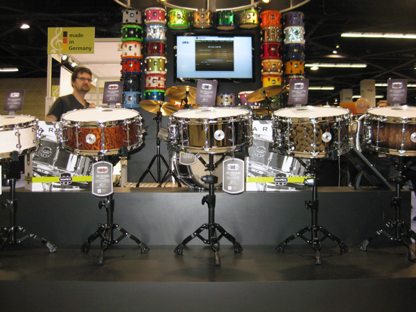 Armory Snares at NAMM 2014