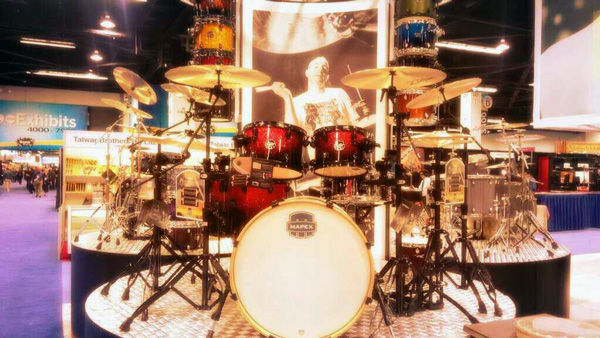 Mapex Booth at NAMM 2014