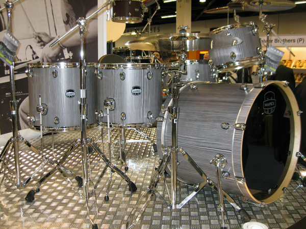 Mapex Mars Series Drum Set at NAMM 2014